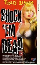 Shock 'Em Dead - British VHS cover (xs thumbnail)