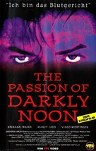 The Passion of Darkly Noon - German VHS cover (xs thumbnail)