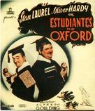 A Chump at Oxford - Spanish Movie Poster (xs thumbnail)