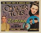 On Your Toes - Movie Poster (xs thumbnail)