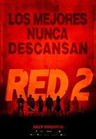 RED 2 - Argentinian Movie Poster (xs thumbnail)