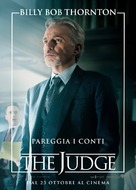 The Judge - Italian Movie Poster (xs thumbnail)