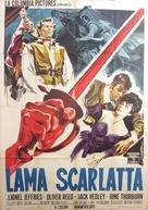 The Scarlet Blade - Italian Movie Poster (xs thumbnail)