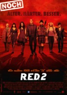 RED 2 - German Movie Poster (xs thumbnail)