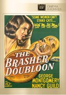 The Brasher Doubloon - DVD movie cover (xs thumbnail)