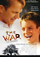 The War - Spanish Movie Poster (xs thumbnail)