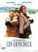 Grumpy Old Men - French Movie Poster (xs thumbnail)