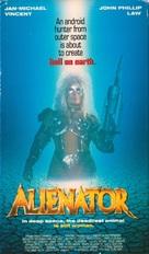 Alienator - VHS movie cover (xs thumbnail)