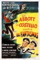 Bud Abbott Lou Costello Meet Frankenstein - Spanish Movie Poster (xs thumbnail)