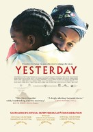 Yesterday - South African Movie Poster (xs thumbnail)