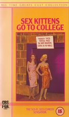 Sex Kittens Go to College - British VHS cover (xs thumbnail)