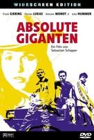 Absolute Giganten - German DVD cover (xs thumbnail)