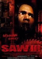 Saw III - German Movie Poster (xs thumbnail)