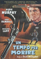A Time for Dying - Italian DVD movie cover (xs thumbnail)