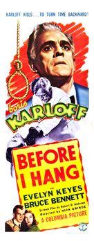 Before I Hang - Movie Poster (xs thumbnail)