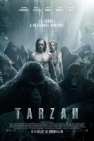 The Legend of Tarzan - French Movie Poster (xs thumbnail)