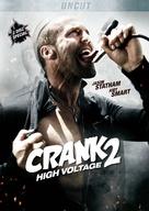 Crank: High Voltage - German DVD cover (xs thumbnail)