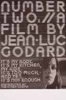 Numèro deux - British Movie Poster (xs thumbnail)
