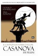 Il Casanova di Federico Fellini - Spanish DVD cover (xs thumbnail)
