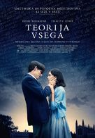 The Theory of Everything - Slovenian Movie Poster (xs thumbnail)