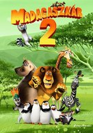 Madagascar: Escape 2 Africa - Hungarian Movie Poster (xs thumbnail)