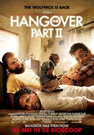 The Hangover Part II - Dutch Movie Poster (xs thumbnail)