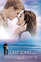 The Last Song - British Movie Poster (xs thumbnail)
