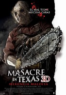 Texas Chainsaw Massacre 3D - Argentinian Movie Poster (xs thumbnail)