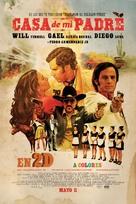 Casa de mi Padre - Mexican Movie Poster (xs thumbnail)