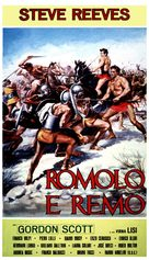 Romolo e Remo - Italian Movie Poster (xs thumbnail)