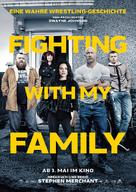 Fighting with My Family - German Movie Poster (xs thumbnail)