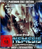 Nemesis - German Blu-Ray cover (xs thumbnail)