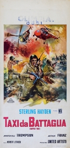 Battle Taxi - Italian Movie Poster (xs thumbnail)
