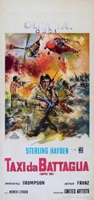 Battle Taxi - Italian Movie Poster (xs thumbnail)