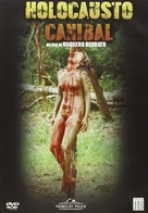Cannibal Holocaust - Spanish DVD movie cover (xs thumbnail)