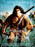 The Last of the Mohicans - French Movie Poster (xs thumbnail)