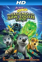 Alpha And Omega: The Legend of the Saw Toothed Cave - Blu-Ray movie cover (xs thumbnail)
