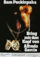 Bring Me the Head of Alfredo Garcia - German Movie Poster (xs thumbnail)