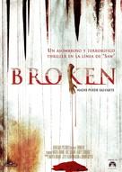 Broken - Spanish Movie Poster (xs thumbnail)
