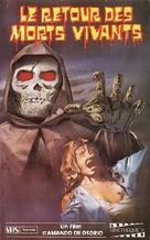 El ataque de los muertos sin ojos - French VHS movie cover (xs thumbnail)