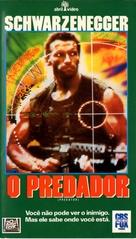 Predator - Brazilian VHS movie cover (xs thumbnail)