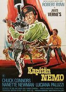 Captain Nemo and the Underwater City - German Movie Poster (xs thumbnail)