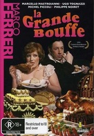 La grande bouffe - Australian DVD cover (xs thumbnail)