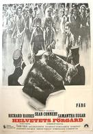 The Molly Maguires - Swedish Movie Poster (xs thumbnail)