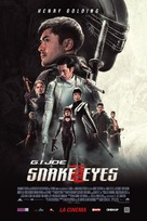 Snake Eyes: G.I. Joe Origins - Romanian Movie Poster (xs thumbnail)