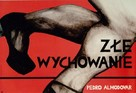 La mala educación - Polish Movie Poster (xs thumbnail)