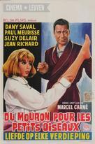 Du mouron pour les petits oiseaux - Belgian Movie Poster (xs thumbnail)