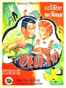 The Egg and I - French Movie Poster (xs thumbnail)