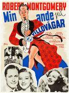 Here Comes Mr. Jordan - Swedish Movie Poster (xs thumbnail)