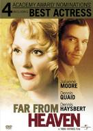 Far From Heaven - DVD movie cover (xs thumbnail)